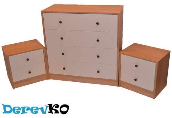 Комплект мебели DerevKO ККТ-1